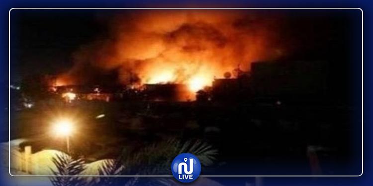 العراق: سقوط صاروخ قرب قاعدة تستضيف قوات أمريكية