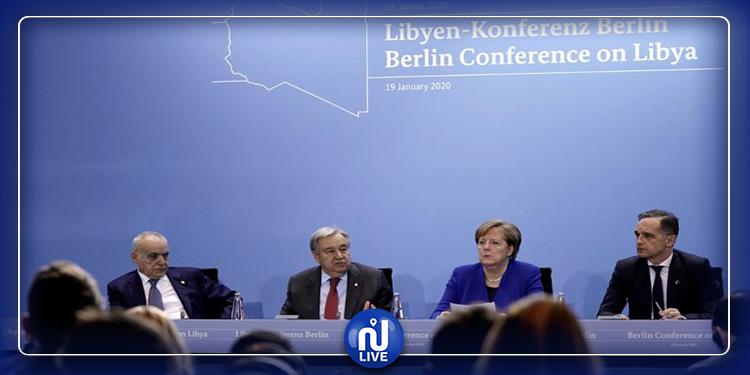نتائج مؤتمر برلين بشأن ليبيا