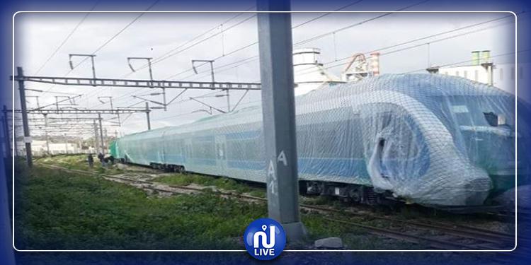 خروج  قطار جديد في طور التجربة عن مساره..السكّك الحديدية توضح