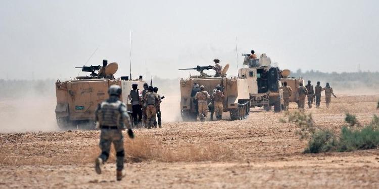 انطلاق عملية عسكرية واسعة في الصحراء العراقية الحدودية مع السعودية