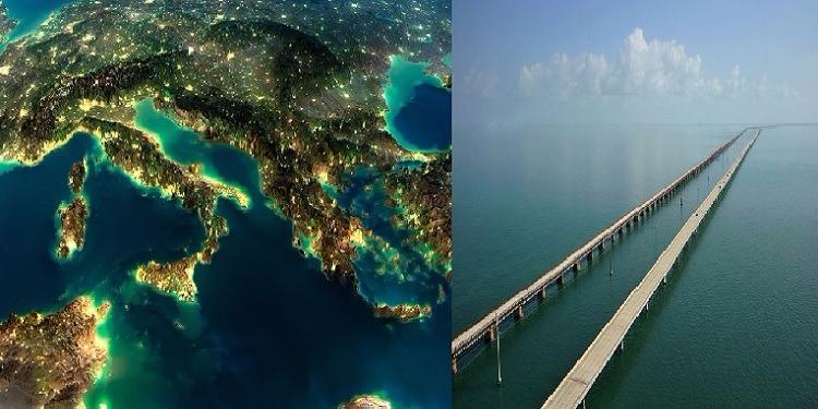 جسر يربط تونس بإيطاليا بكلفة 100 مليار دولار
