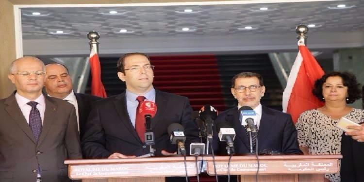 يوسف الشاهد يمضي مع نظيره المغربي جملة من الاتفاقيات المشتركة