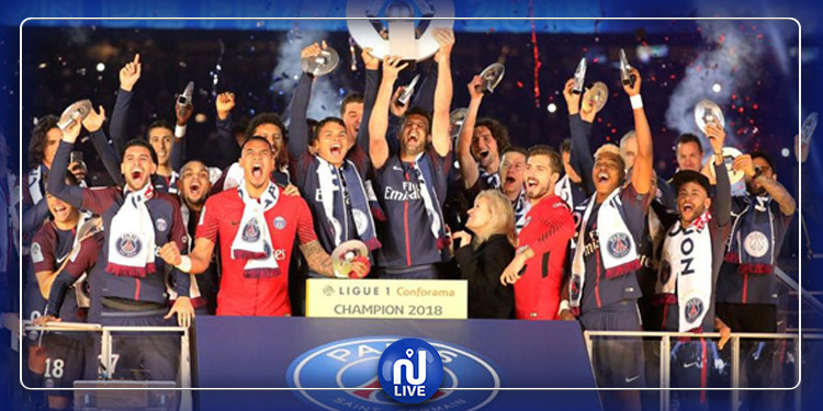 Le PSG est officiellement champion de France