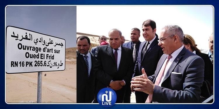 بعد 3 سنوات..انتهاء أشغال جسر وادي الفريد بمنطقة ميداس بتمغزة