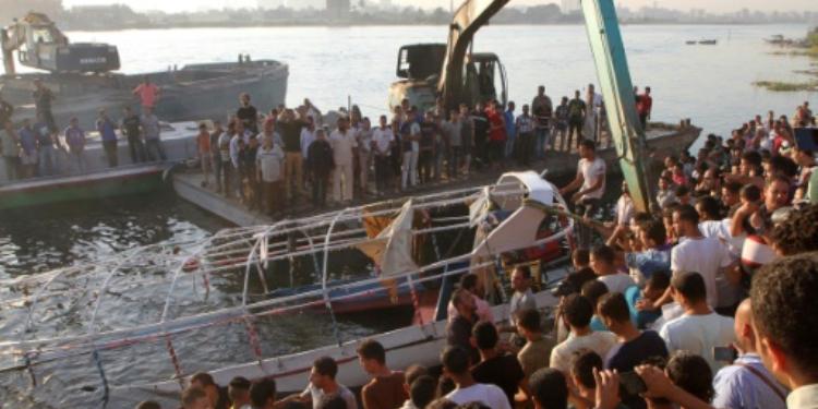مصر: مقتل 21 شخصا إثر تصادم سفينتين في نهر النيل