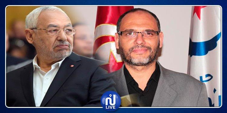 حركة النهضة:  الشهودي يستقيل ويدعو الغنوشي إلى اعتزال السياسية وإبعاد صهره