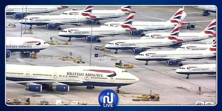إضراب وتعليق الرحلات يشل بريطانيا