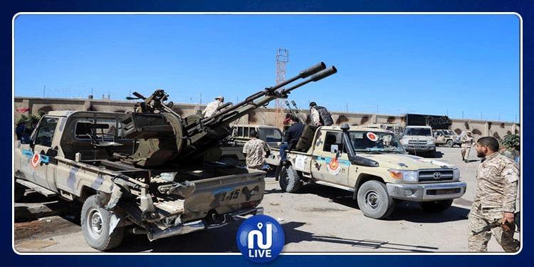 غارات للجيش الليبي تستهدف مبنى لإقامة ''الأتراك'' في مطار مصراتة