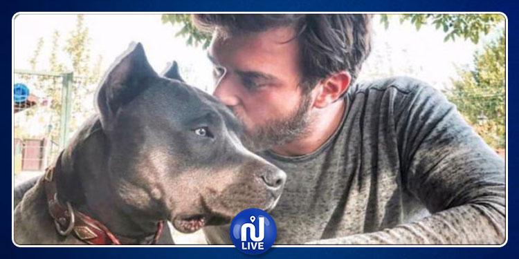 ''مهند'' يسافر الى أمريكا لعلاج كلبه المصاب بالسرطان