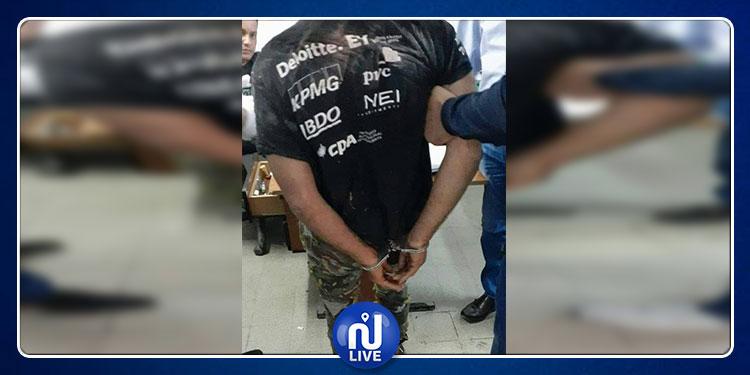 قرمبالية: القبض على شاب تورط في عملية طعن ومحاولة قتل عون أمن