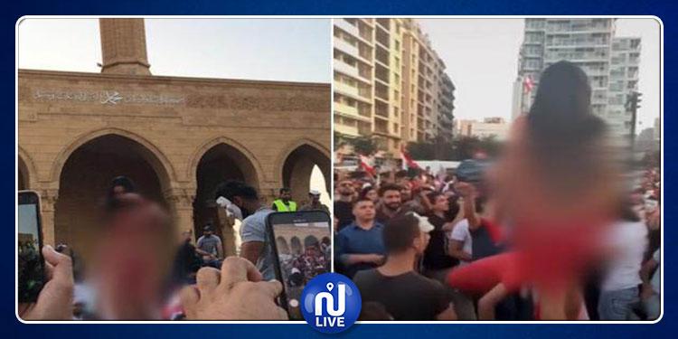 راقصة لبنان: ''أردت المشاركة في المظاهرات على طريقتي الخاصّة'' (فيديو)