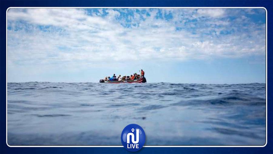 إنقاذ 90 مهاجرا قبالة مدينة الخمس