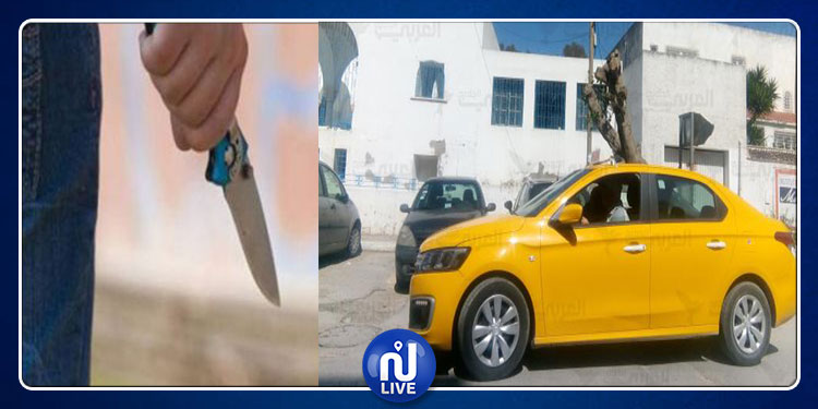 العاصمة: افتك 'تاكسي' من صاحبها فاصطدم بعمود كهربائي