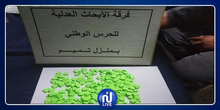 نابل: القبض على رجل وصديقته يتاجران في الأقراص المخدرة (صور)