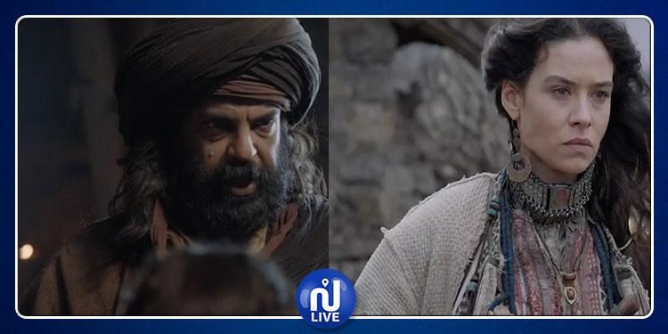 نجلاء بن عبد الله ومعز القديري في أولى حلقات ''ممالك النار'' (صور)