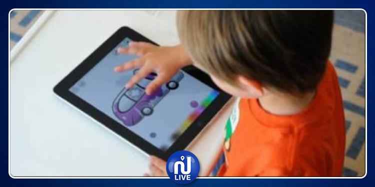 دراسة: النظر إلى الشاشات الإلكترونية يغير أشكال أدمغة الأطفال
