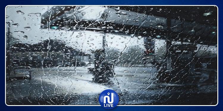 كميات الأمطار المسجلة بعدد من الولايات