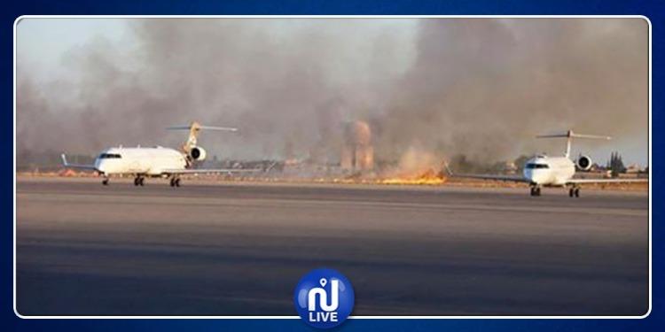 إغلاق المجال الجوي بشكل مؤقت في مطار''مصراتة الدولي''