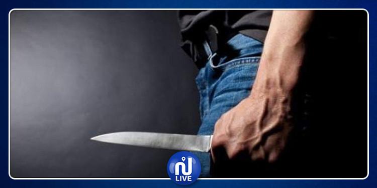 البقالطة: القبض على منحرف إعتدى على شابين بواسطة آلة حادة