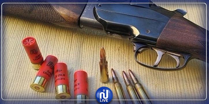 الرقاب: العثور على ذخيرة صيد و59 خرطوشة بورشة