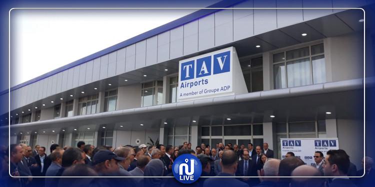 المنستير : تجديد الواجهة الأمامية لمطار حبيب بورقية الدولي