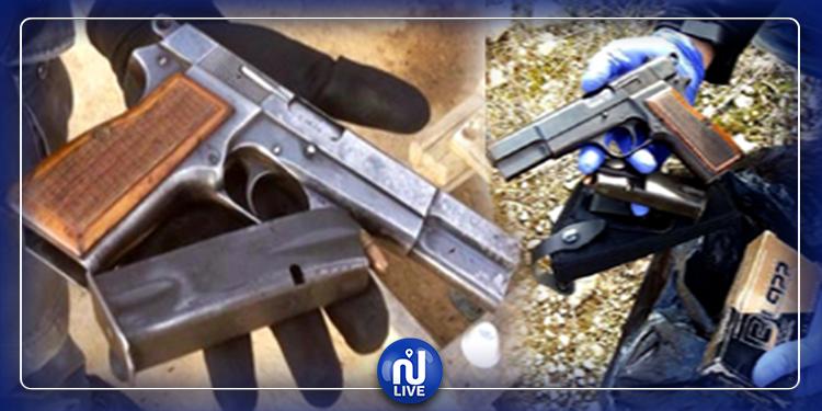 بنزرت: العثور على مسدس وخراطيش بحاوية قمامة