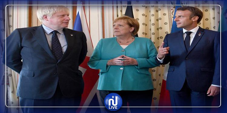 بيان مشترك لفرنسا وبريطانيا وألمانيا بخصوص النزاع النووي مع إيران