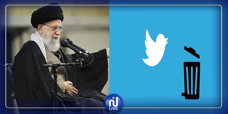 إغلاق حساب مرشد الثورة الإيرانية علي خامنئي على ''تويتر''