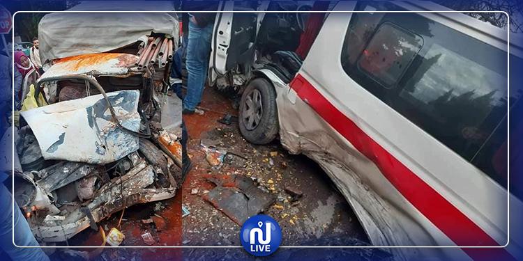 تاكلسة: إصابة 6 أشخاص في حادث مرور