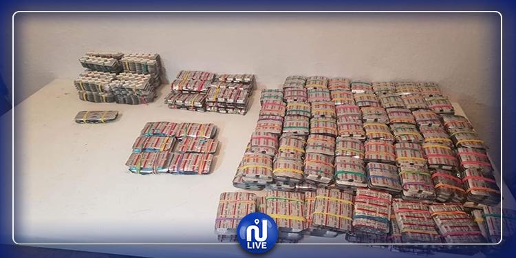 القصرين: ضبط أقراص مخدرة بسيارة نقل ريفي
