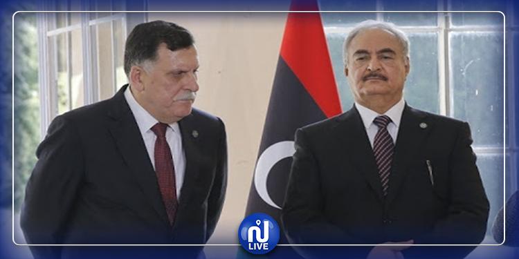 الحكومة الليبية تدعو حفتر للانسحاب من طرابلس