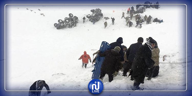 تركيا: ارتفاع ضحايا الانهيار الثلجي إلى 33 قتيلا