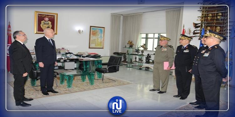 قيس سعيّد يتحول إلى وزارة الدفاع