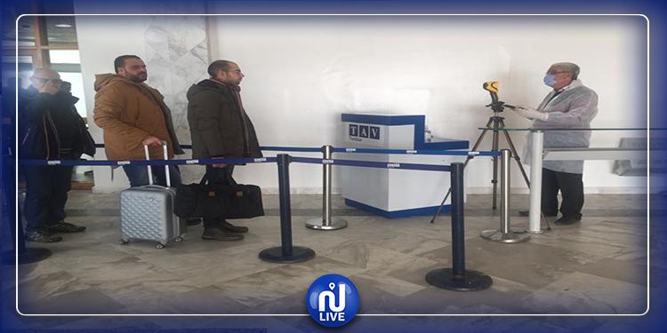 مطار المنستير: إجراءات وقائية لمنع انتشار فيروس كورونا (صور)