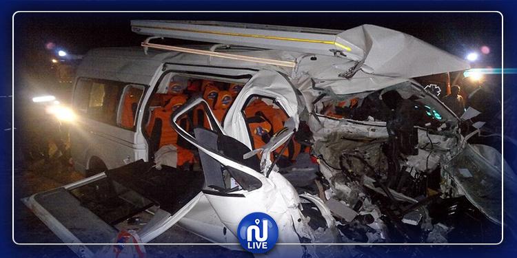 مصر: وفاة 11 شخصا إثر حادث سير