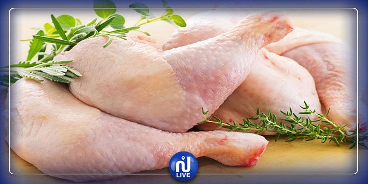 سعر إنتاج دجاج اللحم إنخفض في جانفي بنحو 30%