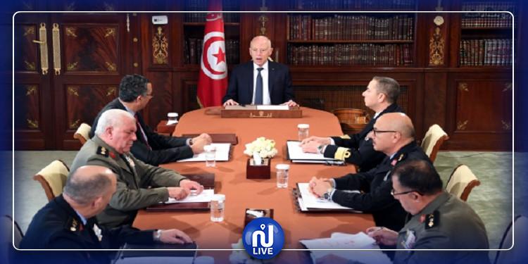 رئيس الجمهورية يشرف على إجتماع مجلس الامن القومي