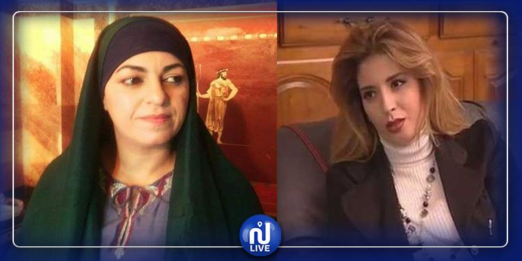 لمياء العمري تحتفل بطلاقها وسامية العياري تساندها (صورة)