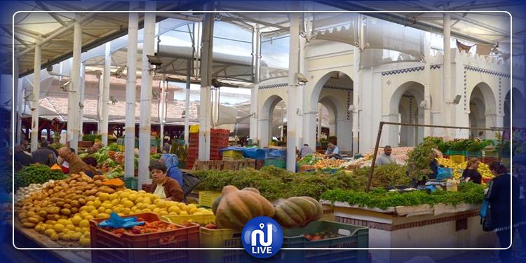 اليوم: فتح السوق المركزية والأسواق البلدية