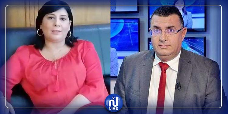 عياض اللومي في ردّه على  إتهامات عبير موسي:'' لا اقبل أن يتحول السجال السياسي إلى مسّ من الأعراض''