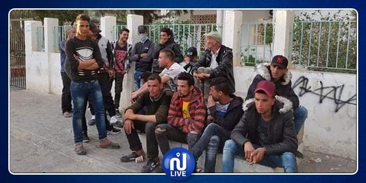 Sebbala: les membres des familles des victimes observent un sit-in