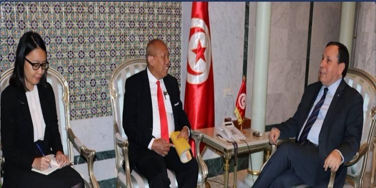 فحوى لقاء الجهيناوي بسفير إندونيسيا بتونس