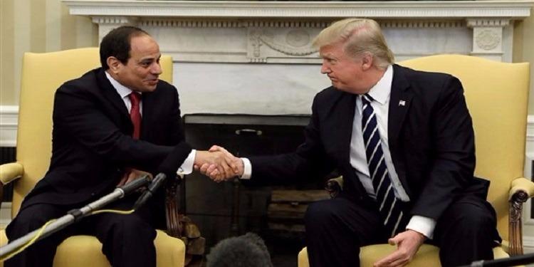 ترامب يؤكد أن بلاده تقف إلى جانب مصر في مكافحة الإرهاب