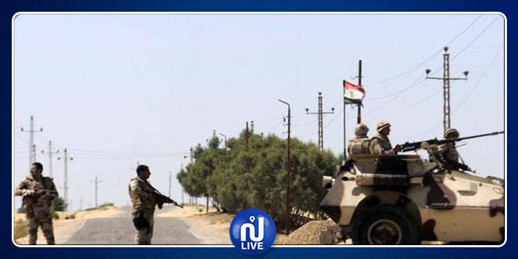 مصر:  استشهاد 4 جنود وضابط وإصابة 11 آخرين في هجوم مسلح شمال سيناء