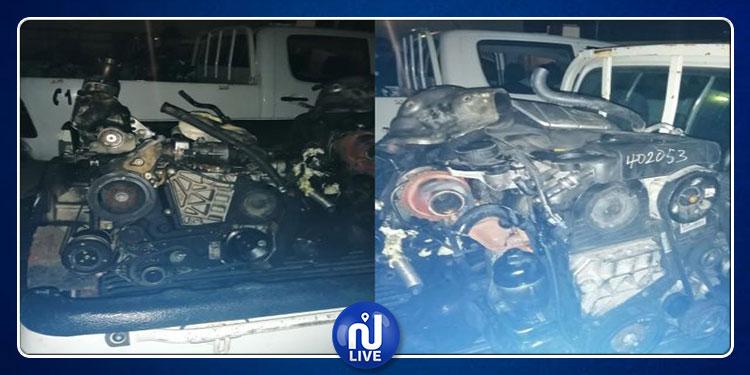 جندوبة: حجز محركات سيارات مهربة بقيمة 61 ألف دينار