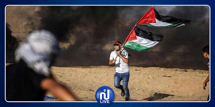 استشهاد شاب فلسطيني خلال مواجهات على حدود قطاع غزة