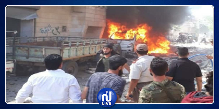 سوريا: مقتل 5 أشخاص في انفجار سيارة مفخخة