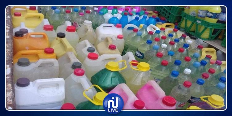 نابل: الكشف عن محل عشوائي معدّ لتحويل وإعداد مواد تنظيف