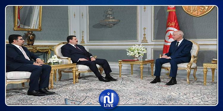 علي الحفصي خلال لقائه برئيس الدولة: البلاد في حاجة لحكومة وحدة وطنية