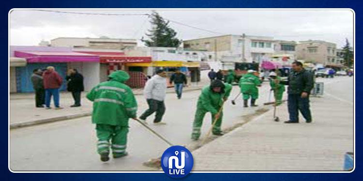 تعليق إضراب عمّال بلديات ولاية المنستير